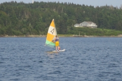 Sailboarding in Sheet Harbour