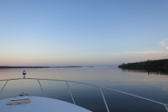 Sailing out of Sheet Harbour
